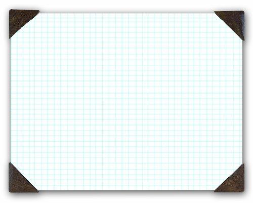 House of Doolittle Doodle Desk Pad, Quadrille, Refillable, 22 x 17 Inches (HOD41003)