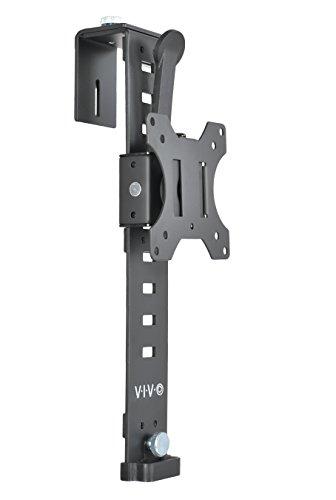 VIVO Black Office Cubicle Bracket VESA Monitor Mount Stand Hanger Attachment