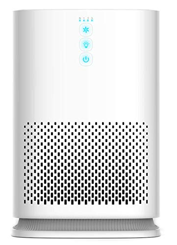Medify MA-14 Medical Grade True HEPA (H13 99.97%) Air Purifier for up to 470 Sq. Ft. Allergies, Dust, Pollen.Perfect for Single Office, Bedrooms, Dorms or Baby Nurseries - White