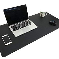 PU Leather Writing Mat for Office/Home, Easy-to-Clean Surface