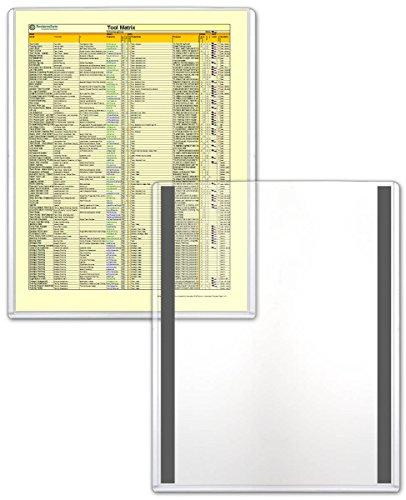 StoreSMART - Magnetic Frames - Rigid Plastic - 5-Pack