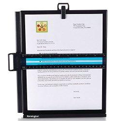 Kensington Metal Letter Size Copyholder with Line Guide