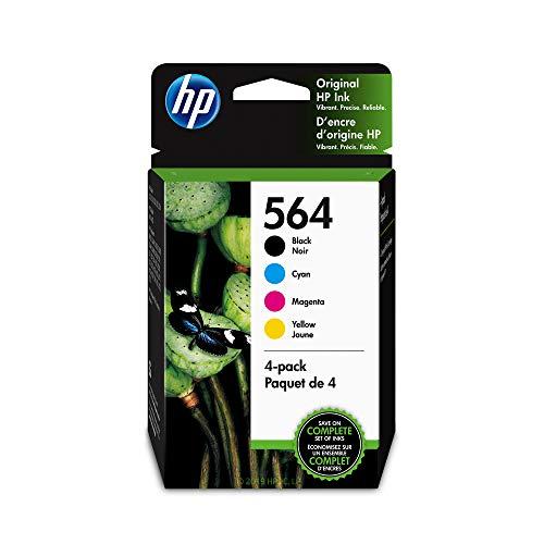 HP 564 Black, Cyan, Magenta & Yellow Ink Cartridges