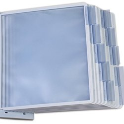 Displays2go, 10-Panel Wall Reference System, Polypropylene Construction