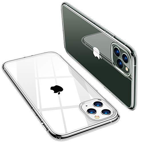 TORRAS iPhone 11 Pro Max Case, Ultra-Thin Slim Fit Soft Silicone TPU Cover Case Compatible with iPhone 11 Pro Max Case 6.5 inch (2019), Clear