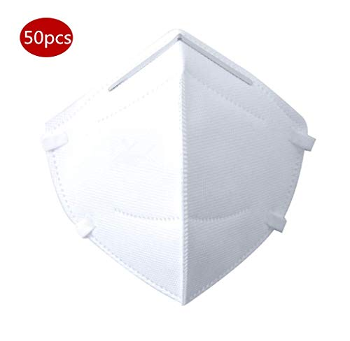 N95 Protection Dust Masks Disposable Anti Pollution Mask (50Pcs)