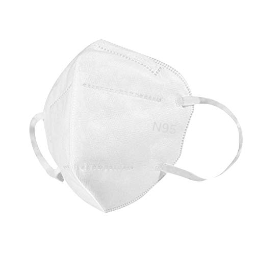 LAVENCHY Anti Pollution Mask, N95 Particulate Respirator Dust Masks Disposable Anti-Dust, Smoke, Gas, Allergies, Germs and Personal Protective Equipment for Men and Women, 10PCS