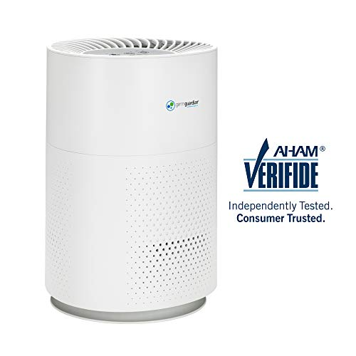 Germ Guardian True HEPA Filter Air Purifier for Home, Office, Bedrooms, Filters Allergies, Pollen, Smoke, Dust, Pet Dander, Mold, Activated Carbon Eliminates Odors and Deodorizes, Quiet AC4200W