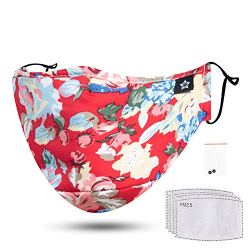Fashion Reusable Cotton Cute Earloop Half Face Dust Proof Mouth Mask Mouth Mask Material:
