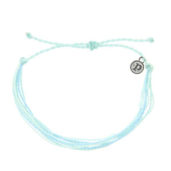 Pura Vida Jewelry Bracelets Bright Bracelet - 100% Waterproof and Handmade w/Coated Charm, Adjustable Band (Isla)