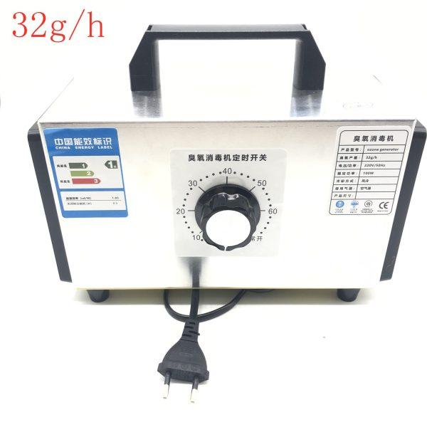 Ozone Generator 220V 32g/h Ozone Machine Air Purifier o3 Air cleaner