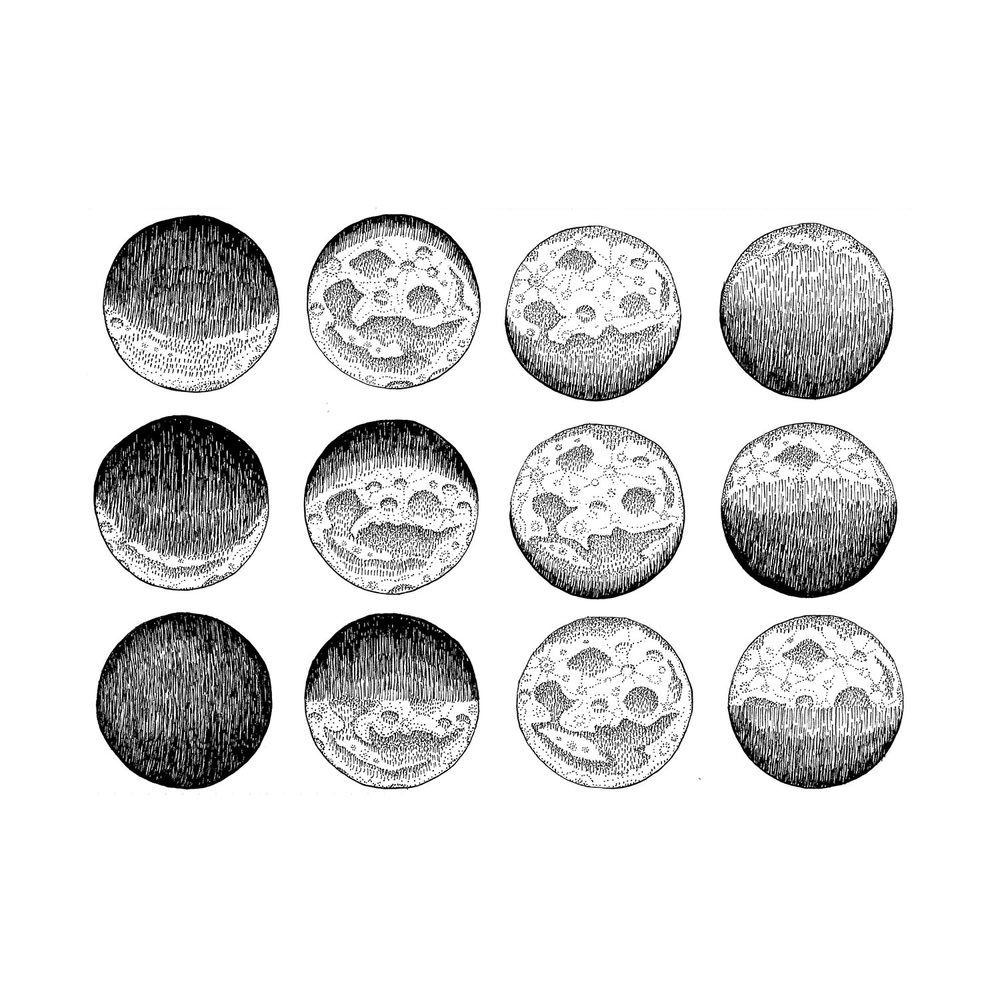 THE MOON PHASES OF OCTOBER