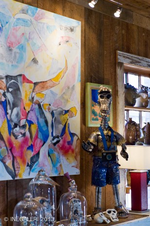 Artworks in Flying Fish Gallery