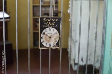 Medical exhibit area