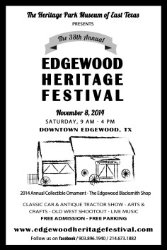 EHF2014 Print Ad Festivals of Texas