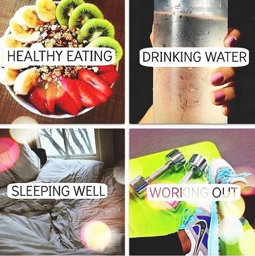Getting fit and healthy