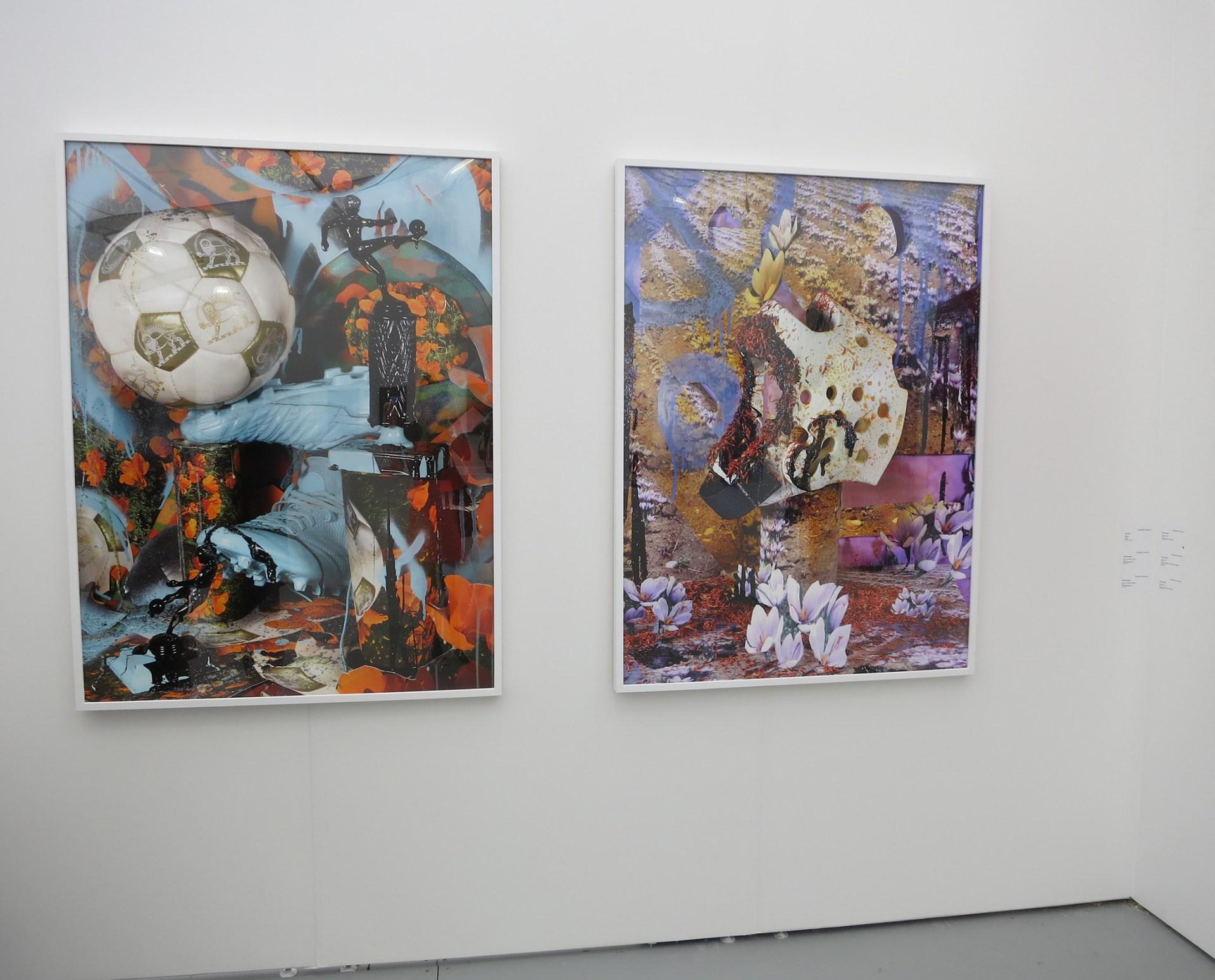 Soleimani's work at Untitled Miami