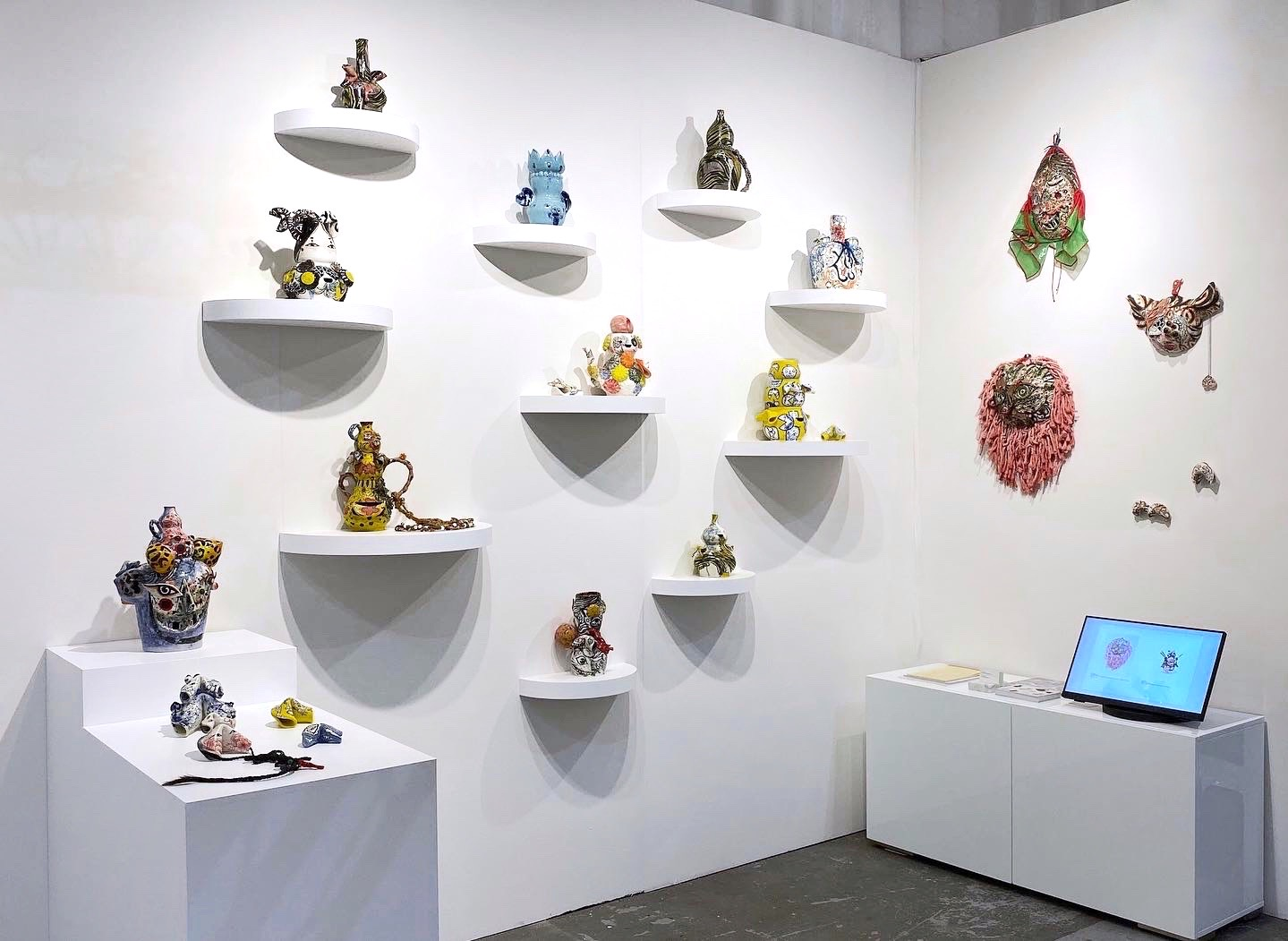 Laney Contemporary Booth P13 at NADA 2019