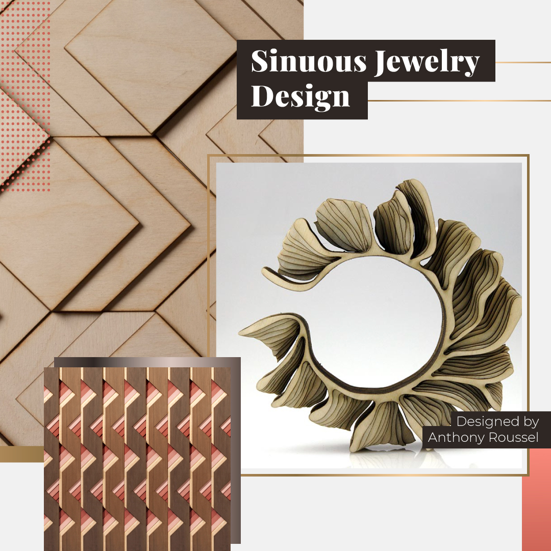 Sinuous Design article Ines Arenas Jewelry
