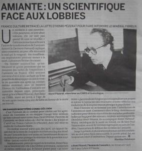 """""""Le Monde"""" 28 mars 2010"""
