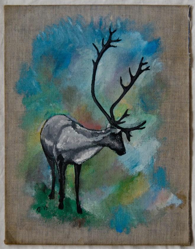 Alex's deer by Inessa Demidova