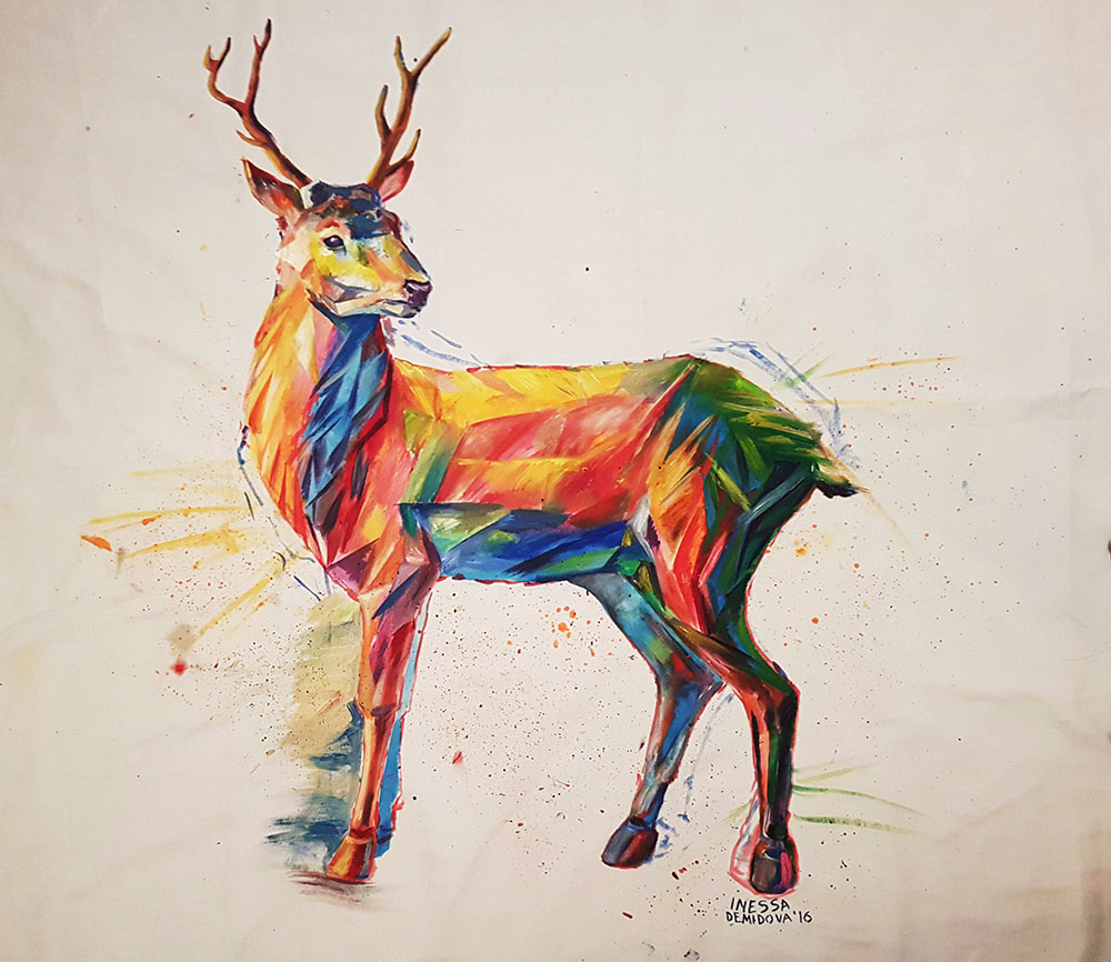 Art Deer Light And Other Joys