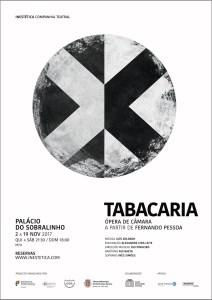 Tabacaria | ópera de câmara, a partir de Álvaro de Campos / Fernando Pessoa