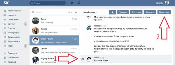 How to save messages VKontakte  How to save correspondence