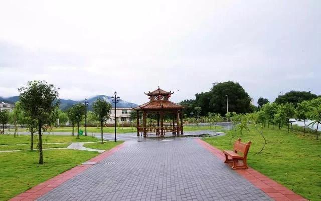 藏在潮州意溪鎮石牌村里的一抹綠色——石牌公園_騰訊新聞