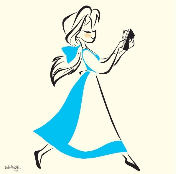 迪士尼公主將成為正向生活的新目標,真希望自己也有貝兒的勇敢