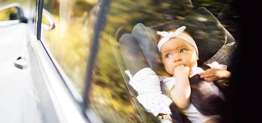 4 от всеки 10 родители проявяват небрежност при превозване на децата си в кола