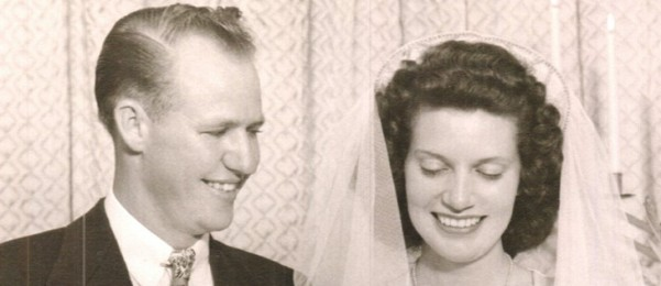 L.C. and Betty Salis were married in a small chapel in Hillcrest in September 1946.