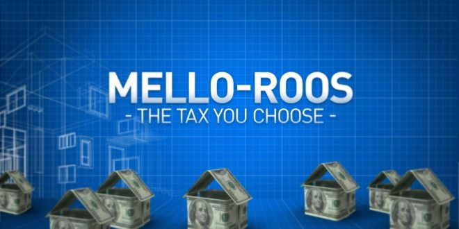 Mello-Roos Law Allows Vote Of One To Decide On New Taxes