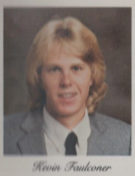 Kevin Faulconer's senior photo from the 1985 Oxnard High School Yearbook. Credit: Oxnard Public Library