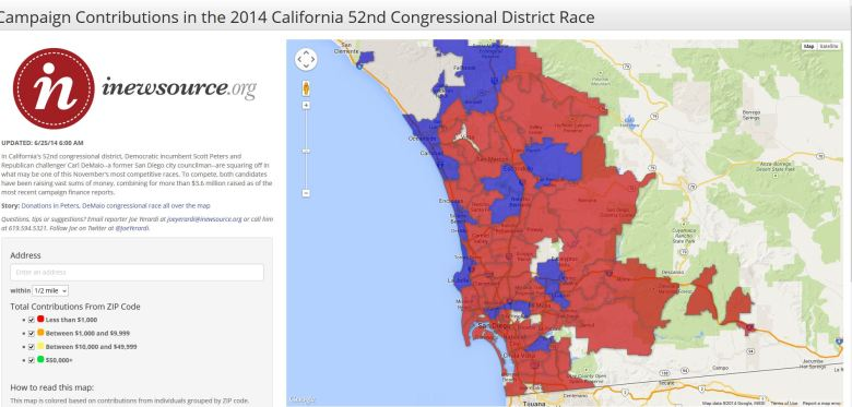 ca-52 contributions map