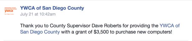 Dave Roberts YMCA