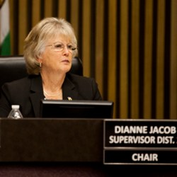 Supervisor Dianne Jacob