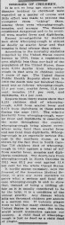 A story in the June 4, 1913 edition of the Topeka (Kansas) State Journal. Credit: Library of Congress.