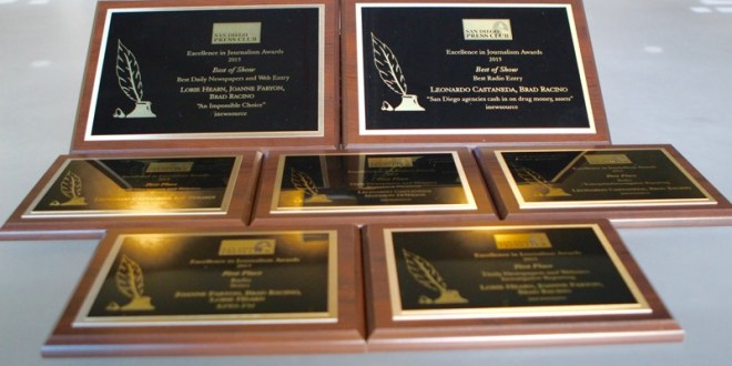 Newsletter: inewsource wins big at San Diego Press Club awards