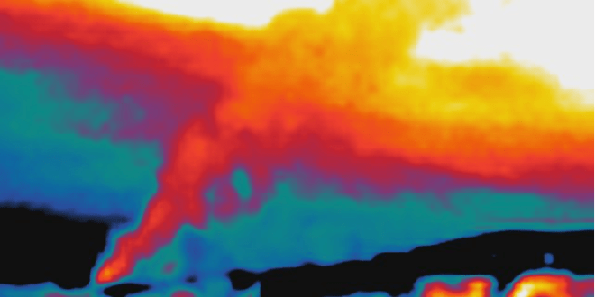 Infrared images show extent of gas cloud in L.A. County