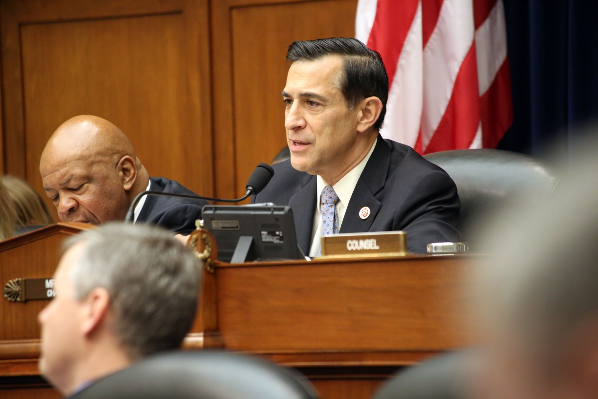 Congressman Darrell Issa speaks at a committee hearing, Jan. 9, 2014. Courtesy photo.