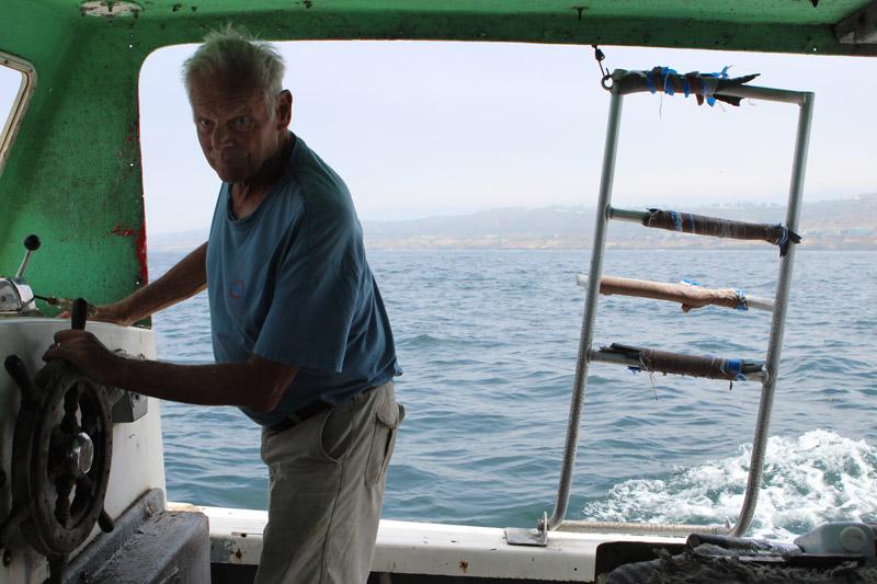 Peter Halmay San Diego commercial fisherman