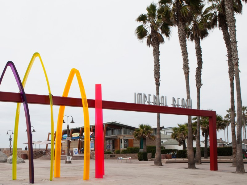 Shops and restaurants along the Imperial Beach pier aren't enough to bolster the city's low sales tax revenues. Leo Castaneda, inewsource