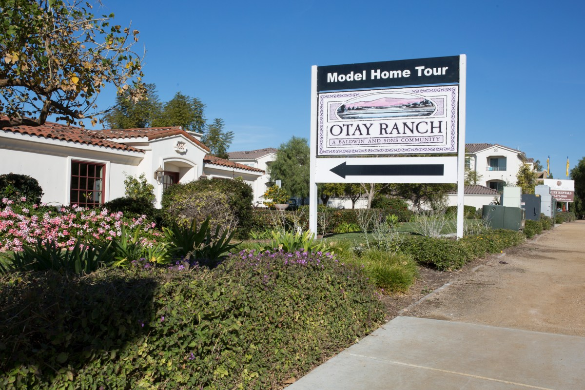 Newer housing developments such as this one in eastern Chula Vista, shown here on Jan. 4, 2018, are in an area of San Diego County that experienced the greatest increase in income inequality from 2011 to 2016. (Megan Wood/inewsource)