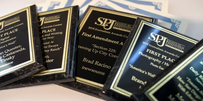 inewsource wins 19 awards in 2018 San Diego SPJ contest