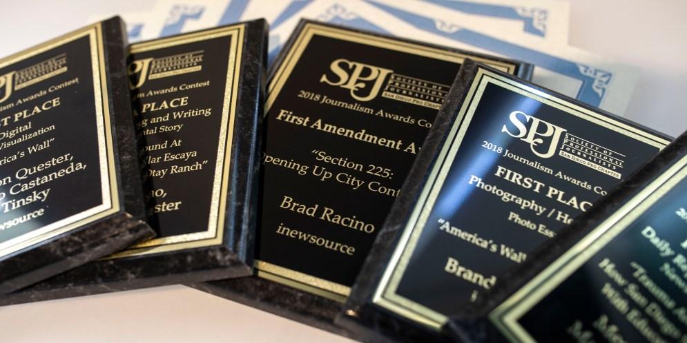 inewsource wins 19 awards in 2018 San Diego SPJ contest