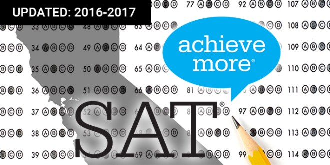 See SAT test results for California high school seniors