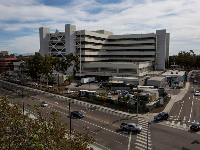 The San Diego VA, shown on Nov. 15, 2018, provides services to the nearly quarter-million veterans in San Diego and Imperial counties, and has one of the largest research programs in the national VA network.