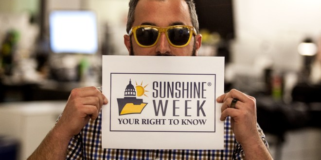 Sunshine Week: Brad Racino's take on public records