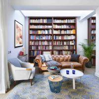 Una renovación de libro para una casa de película